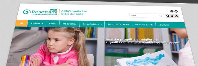 Pubblicazione portale dei servizi socio sanitari