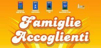 «Famiglie Accoglienti», orari e luoghi nei quattro Comuni