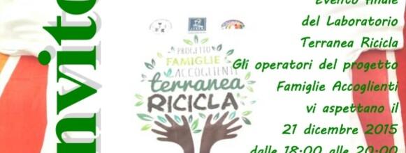 «Terranea Ricicla», evento conclusivo a Sammichele di Bari