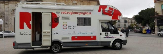 Progetto ReD, il camper oggi a Gioia del Colle