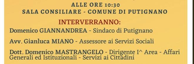 Dal REI al Reddito di Cittadinanza, il 12 aprile convegno a Putignano