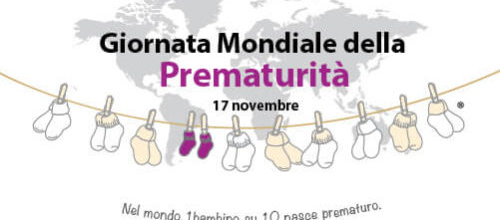 Il 17 novembre Giornata Mondiale della Prematurità