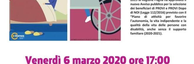 Castellana, il 6 marzo presentazione bando Pro.V.I.